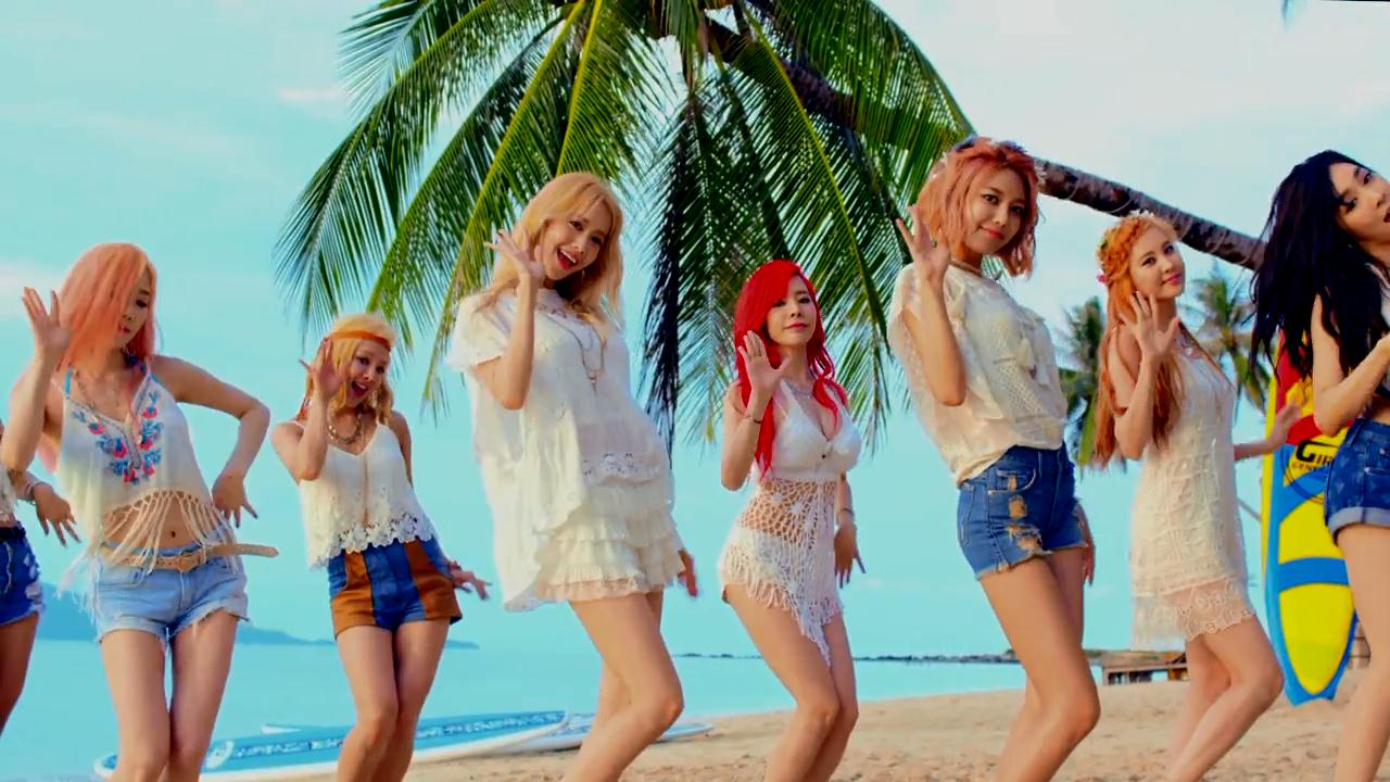 SNSD members teases fans with photos from their MV Filming ...